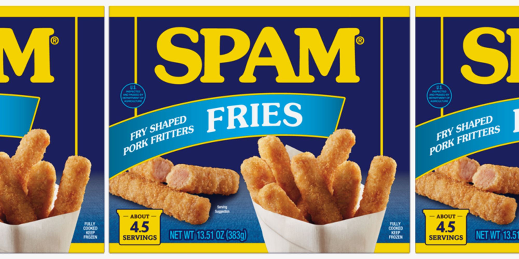 You Can Now Get Spam Fries, Because There's No Such Thing As Too Much Canned Meat