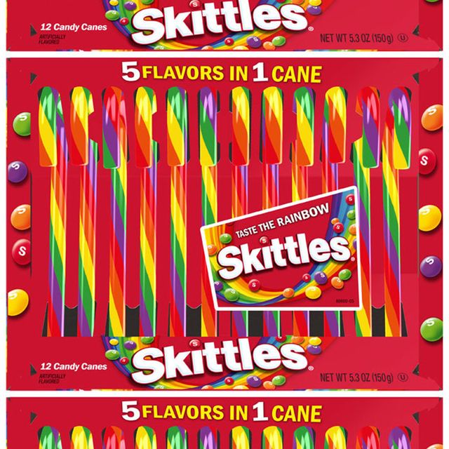 spangler candy company skittles flavored candy canes