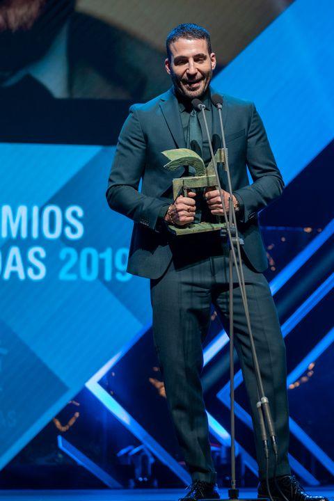 Miguel Ángel Silvestre en los Ondas 2019
