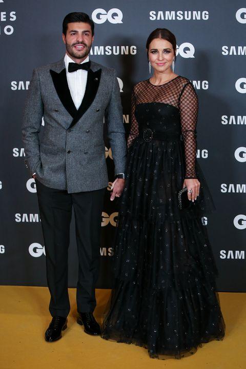 Paula Echevarría y Miguel Torres en los Premios GQ  2019