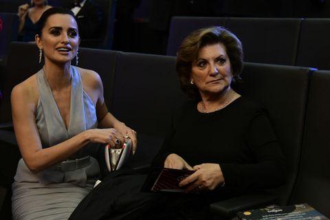 Penélope Cruz y su madre Premios Goya 2019