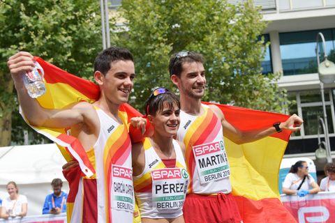 Diego García Carrera, María Pérez y Álvaro Martín