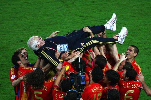 la Roja de luis aragonés en la eurocopa de 2008