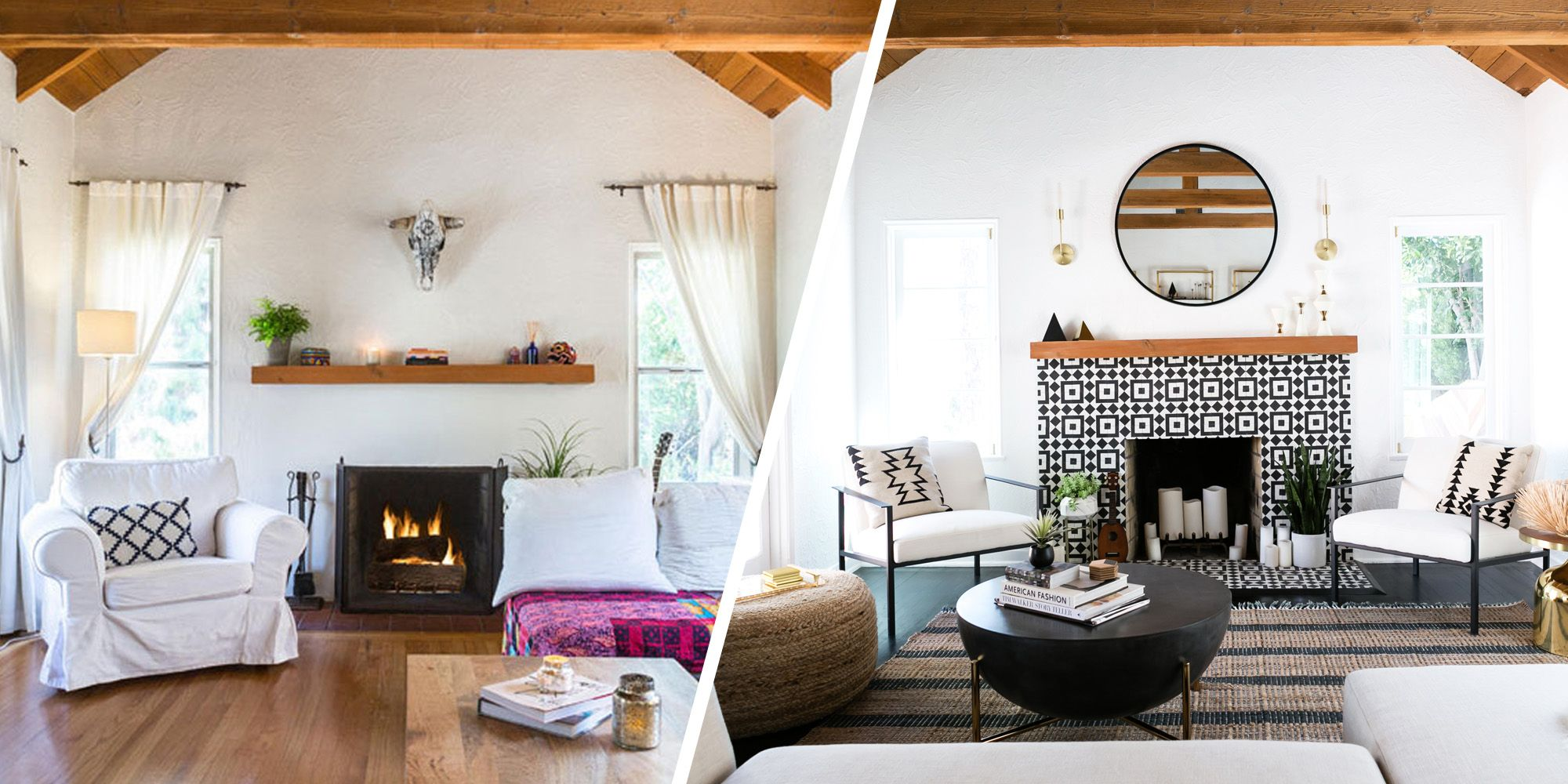 Before + After: A Spanish-Style Home Is Reimagined In True L.A. Fashion