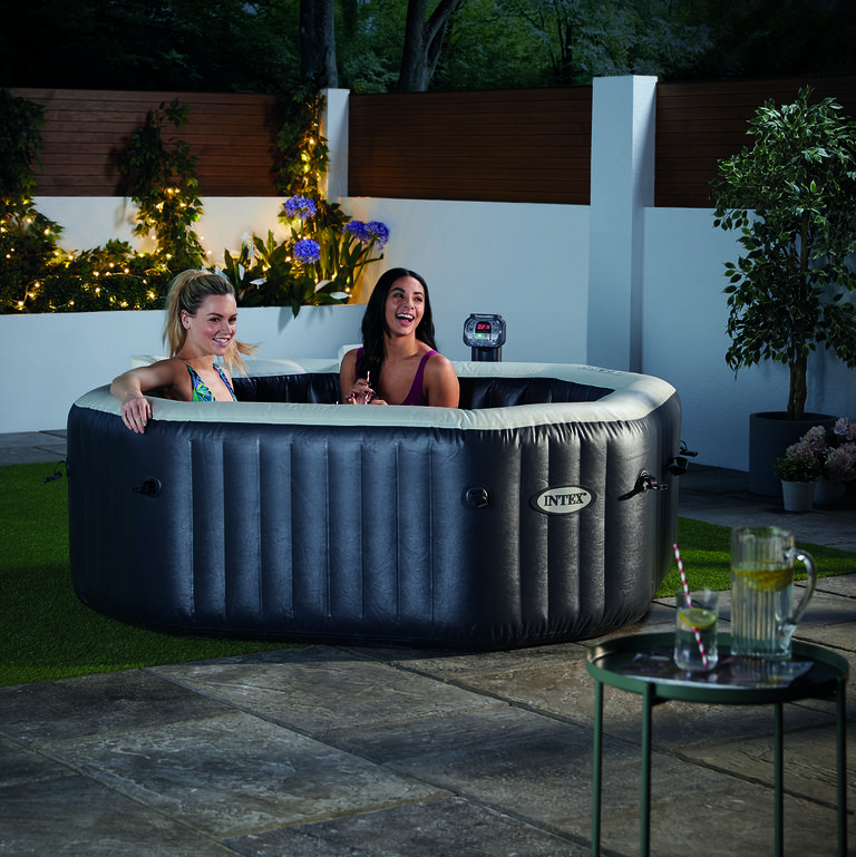 Walmart Is Selling an Inflatable Hot Tub For Under $400
