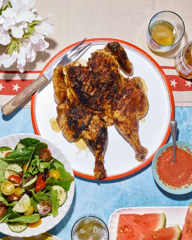 spatchcock chicken with piri piri sauce