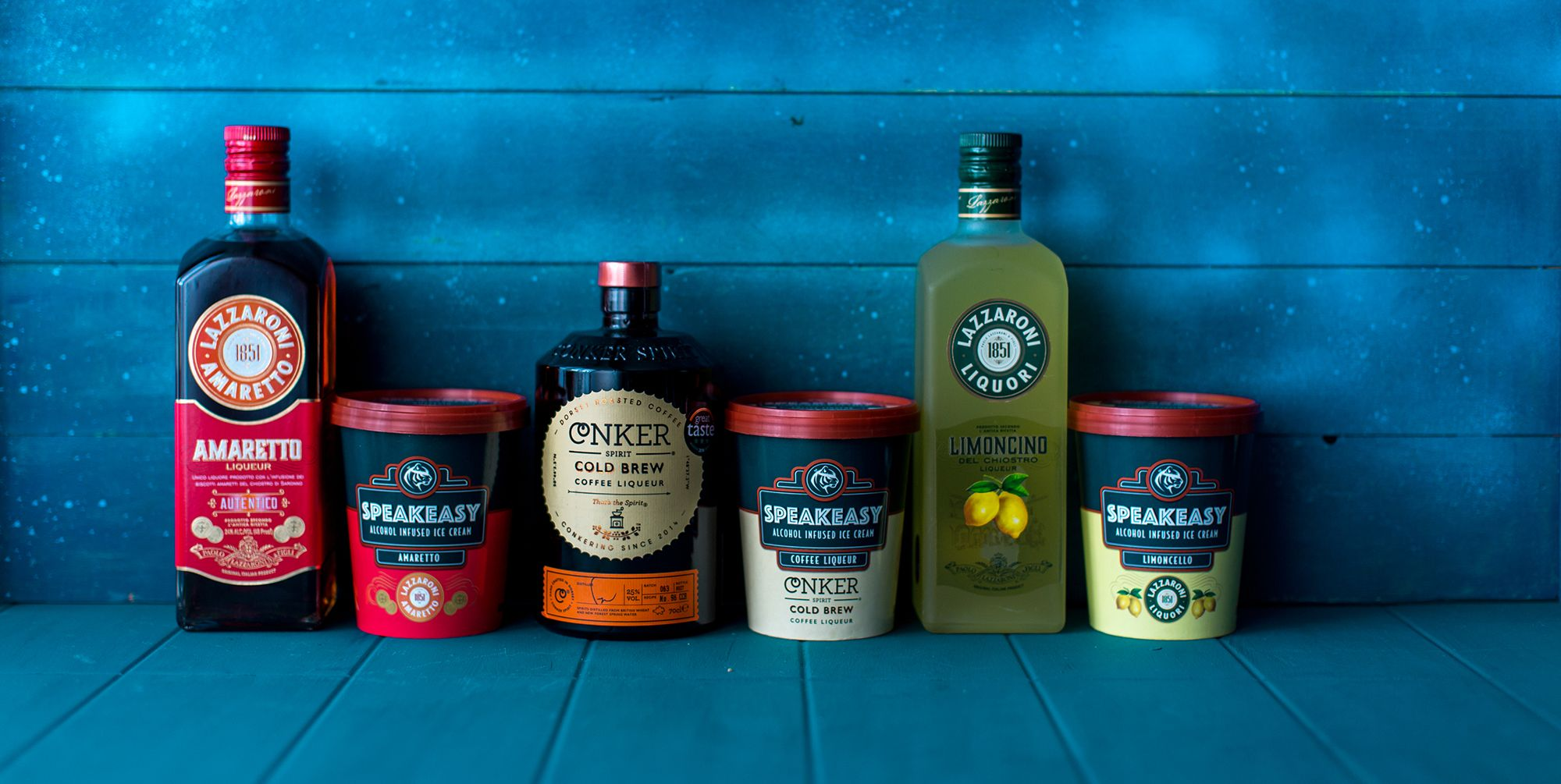 Ocado is about to stock these delicious booze-infused ice cream tubs