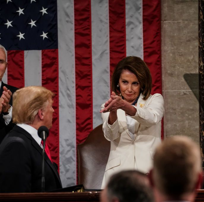 Nancy Pelosi's Iconic Pity Clap at the State of the Union Will Sustain Me for Life