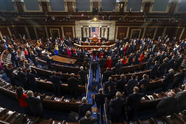 the us house of representatives convenes 117th congress, swears in new members