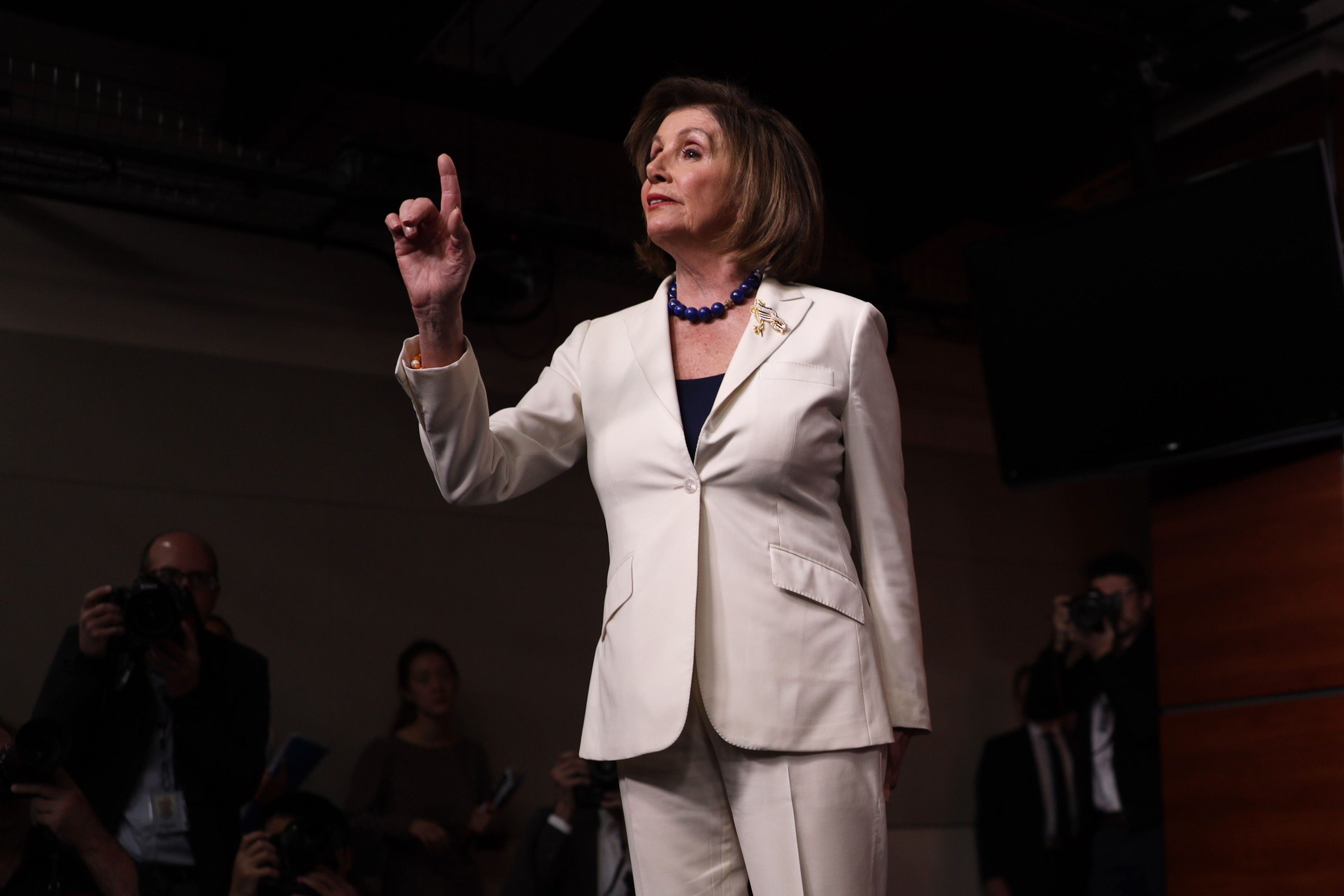 Nancy Pelosi Lays a Smackdown with the Power of the Holy Spirit