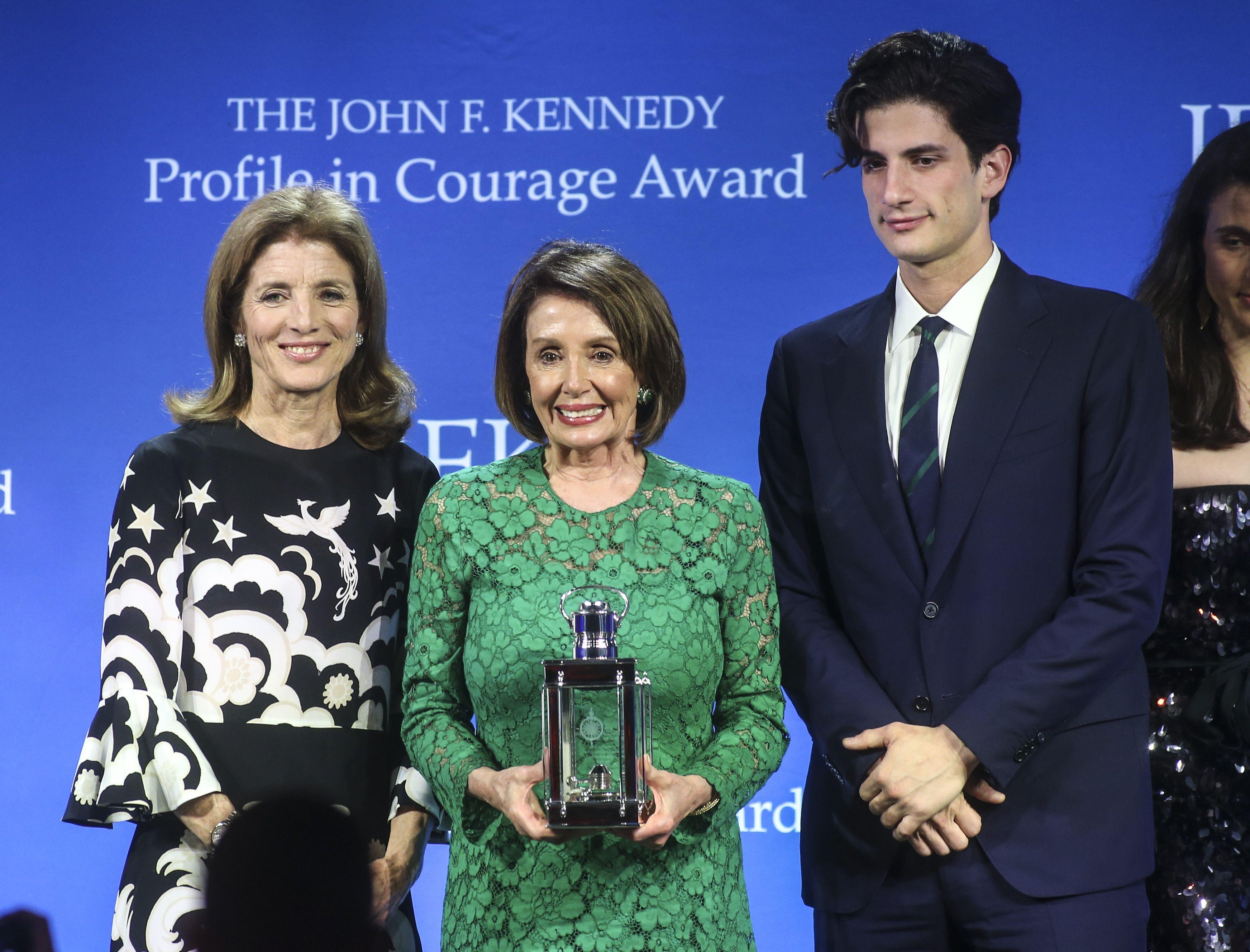 Caroline Kennedy Just Gave Nancy Pelosi The Cutest Compliment