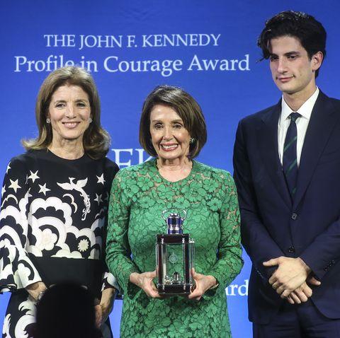 Caroline Kennedy and Jack Schlossberg Just Gave Nancy Pelosi a Profile in Courage Award