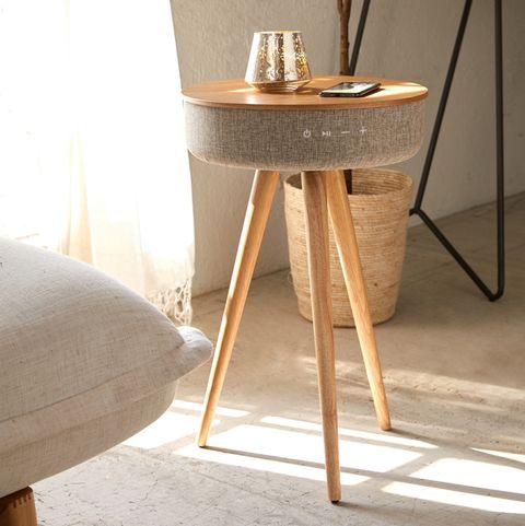 Furniture, Table, Room, Desk, Interior design, Chair, Floor, Nightstand, Houseplant, Material property,