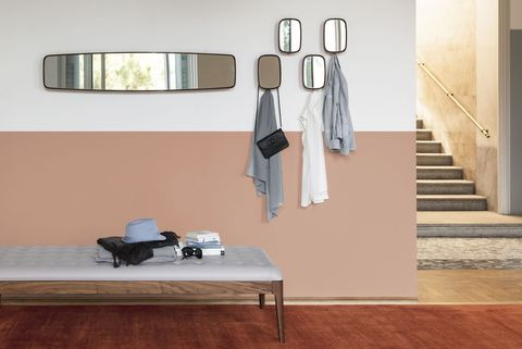 Room, Furniture, Wall, Floor, Table, Lighting, Interior design, Beige, Flooring, Rectangle,