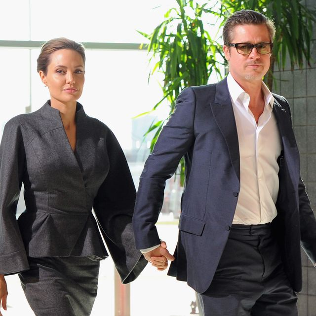 Angelina Jolie Opens Up About Brad Pitt Divorce Family Wellbeing