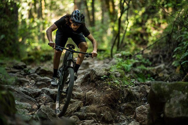 man riding specialized s works epic evo bike