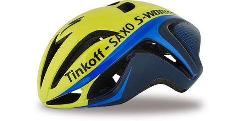 Sports equipment, Blue, Yellow, Personal protective equipment, Helmet, Sports gear, Bicycle helmet, Bicycles--Equipment and supplies, Light, Headgear,