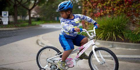 Boy on a Specialized Bike