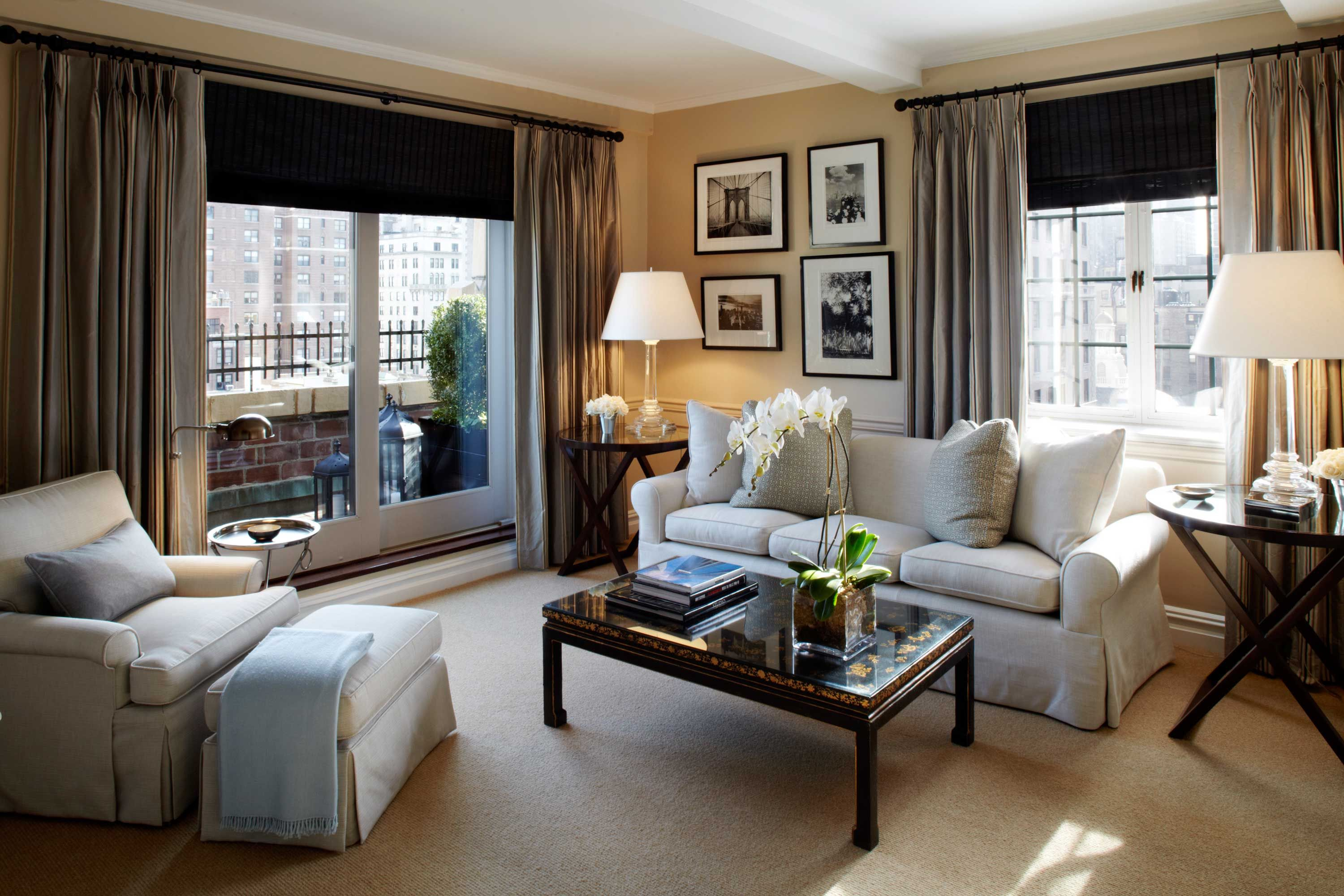 Stay at an elegant hotel on Manhattan's Upper East Side