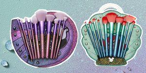 Spectrum makeup brushes Disney Little Mermaid collection