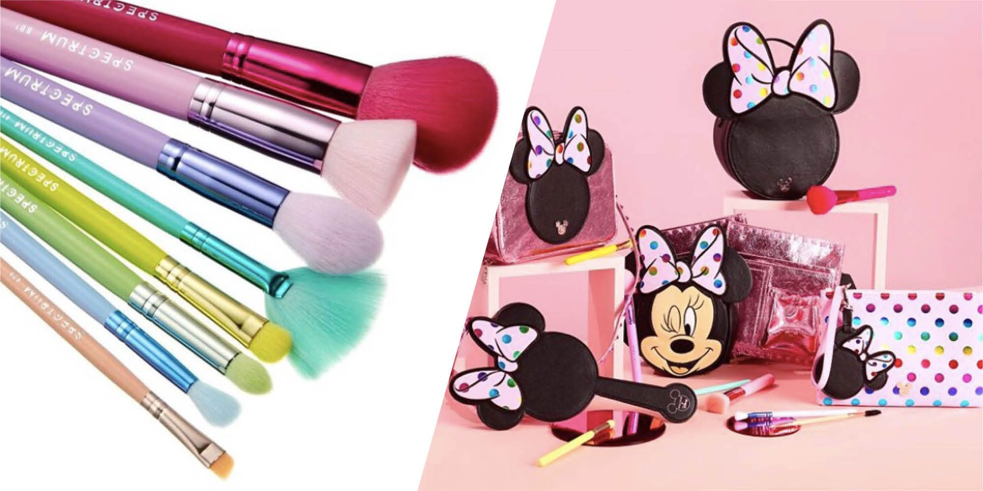 spectrum makeup brushes minnie mouse disney collection