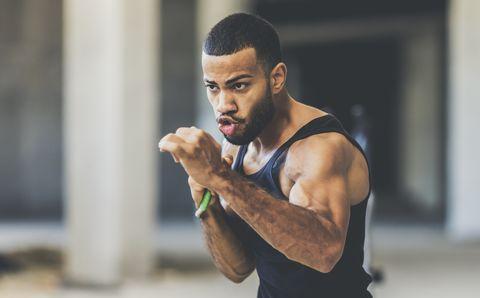 Speed training in an urban gym
