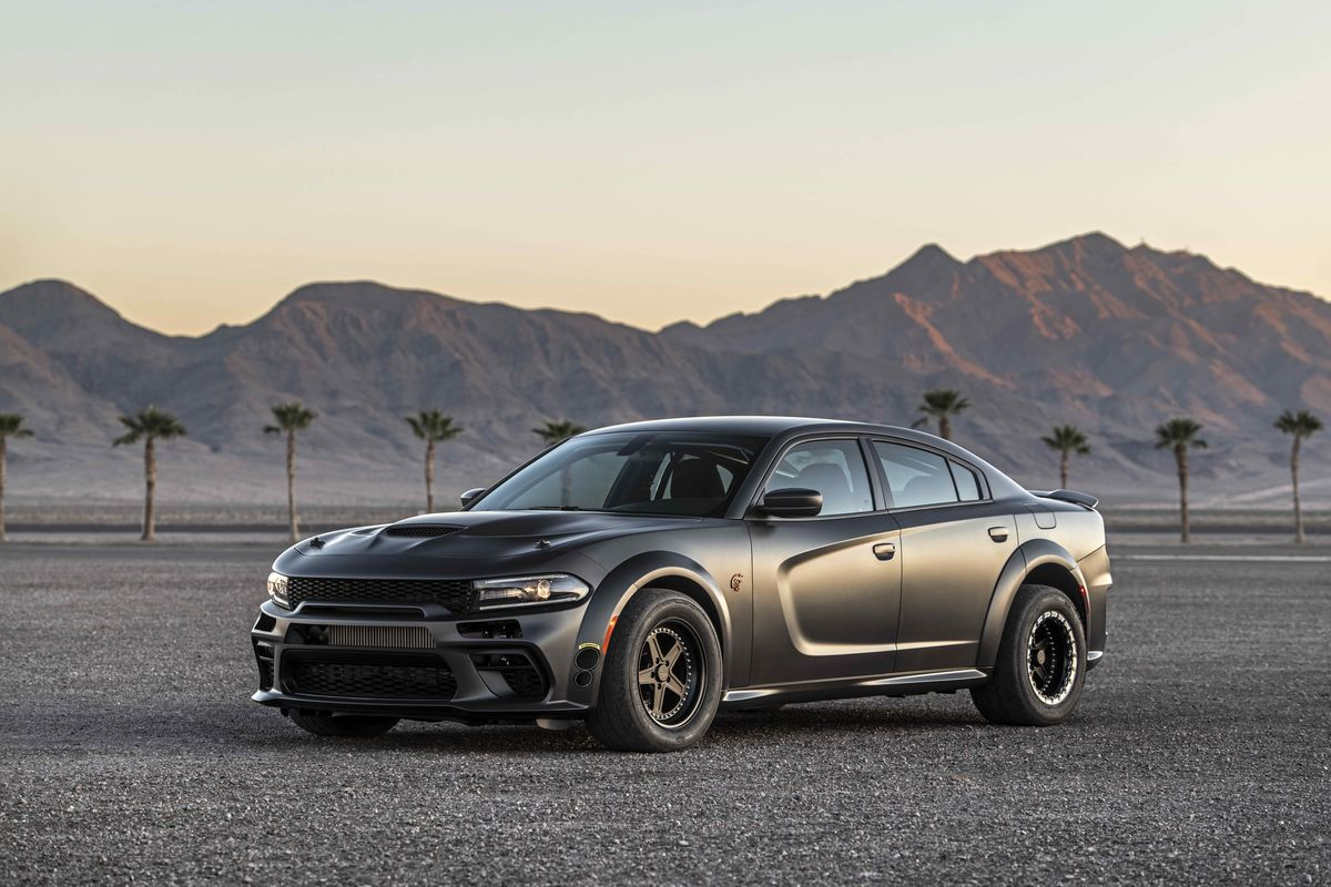Demon Powered Dodge Charger Speedkore S Devilish Sema Creation