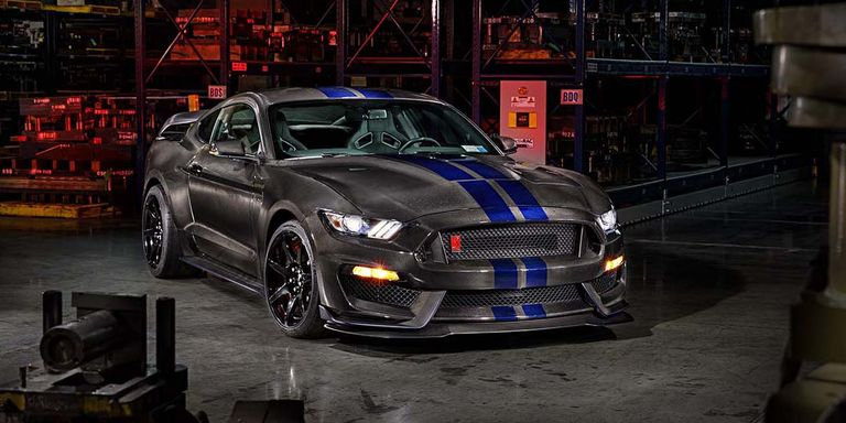 Carbon Fiber 600 Horsepower 2017 Ford Gt: This Carbon-Bodied Shelby GT350R Drops Hundreds Of Pounds
