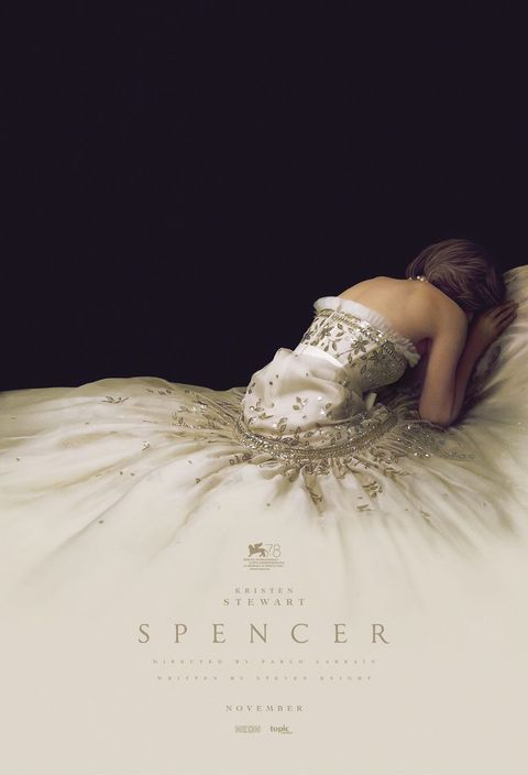 Kristen Stewart as Princess Diana in the Spencer movie