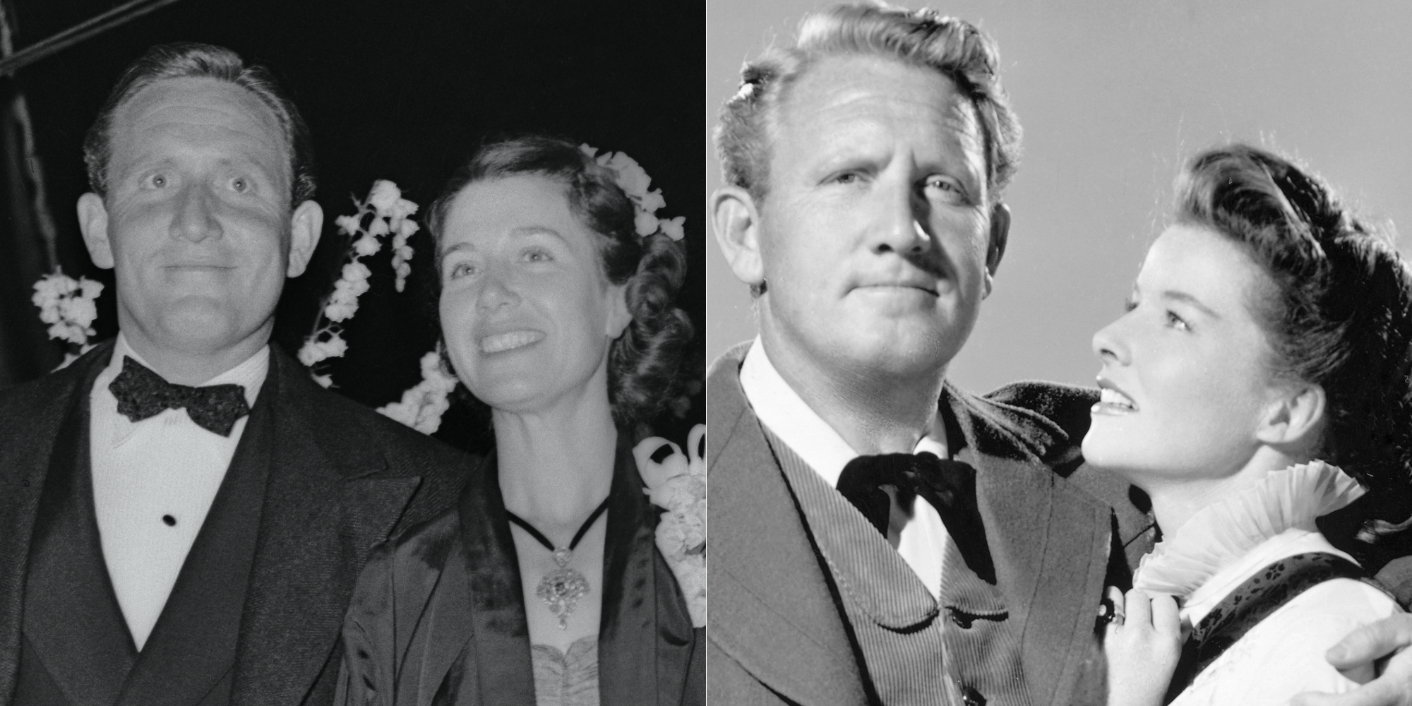 Spencer Tracy, Louise Treadwell, and Katharine Hepburn
