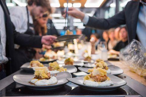 Food, Dish, Cuisine, Meal, appetizer, Brunch, Culinary art, Eating, À la carte food, Side dish,