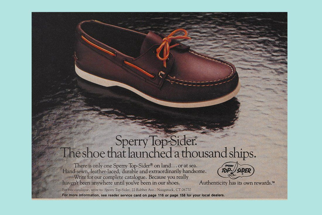 Sperry Top Sider History Boat Shoes D Island Slip On Mocasine Casual Brown