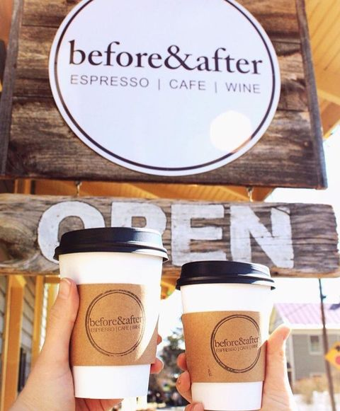 sperryville virginia coffee shop before  after