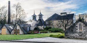 Strathisla Distillery, Scotland.