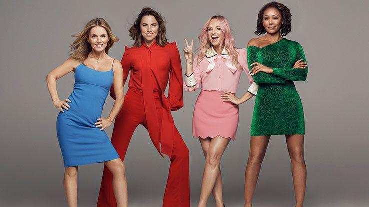 Spice Girls Tote Bag 2019 Tour Concert Ladies Women Girls Pop Band ZIGAZIG AH
