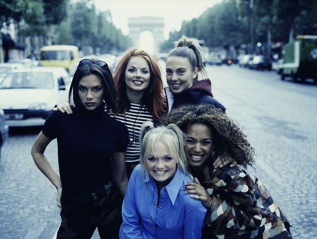 spice girls, paris, 90s, girl group, music