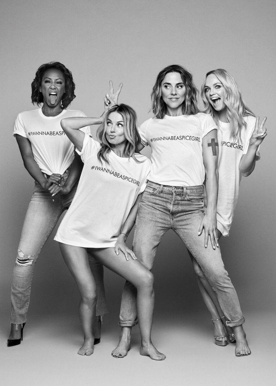 SPICE WORLD 2019 SWEATSHIRT T-SHIRT Hoodie New UK Tour Spice Girls Spicegirls