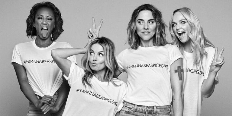 c48b476b The Spice Girls have launched a charity T-shirt that you'll want immediately