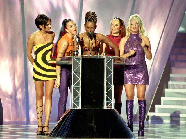 spice girls nemen award in ontvangst