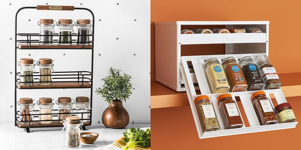 Exceptionnel Spice Rack Organizing Ideas