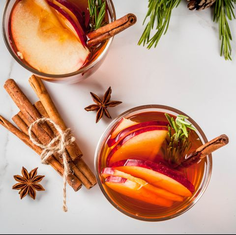 food, cinnamon, star anise, rosemary, garnish, mulled wine, drink, ingredient, anise, herb,