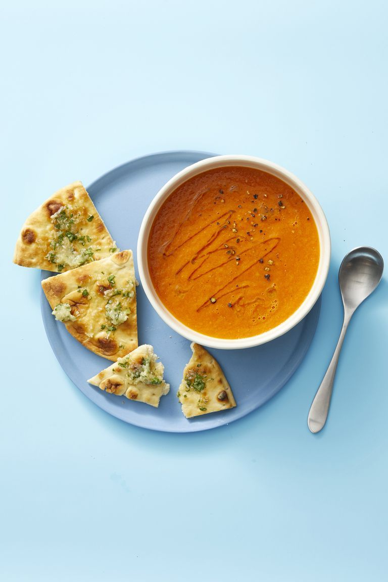 Spiced Fresh Tomato Soup - Vegan Recipes