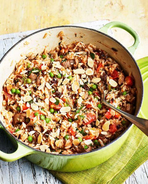 best one pot meals recipes spiced lamb pilaf
