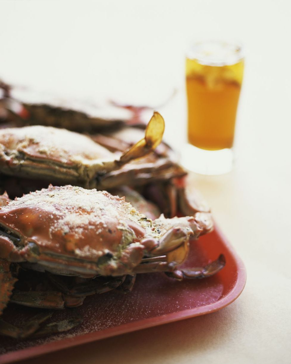 Spiced Maryland Blue Crabs