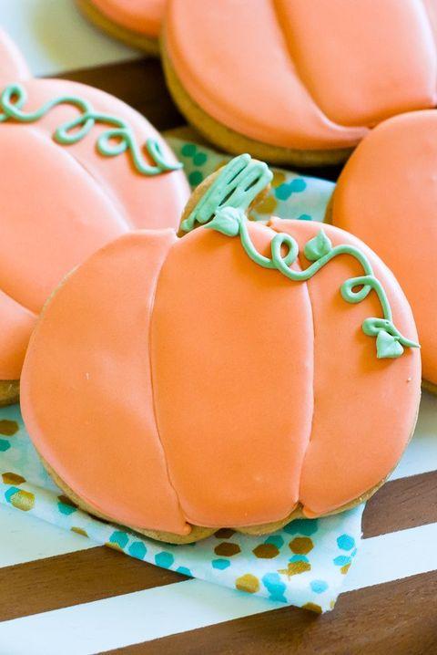 spiced pumpkin cut out cookies