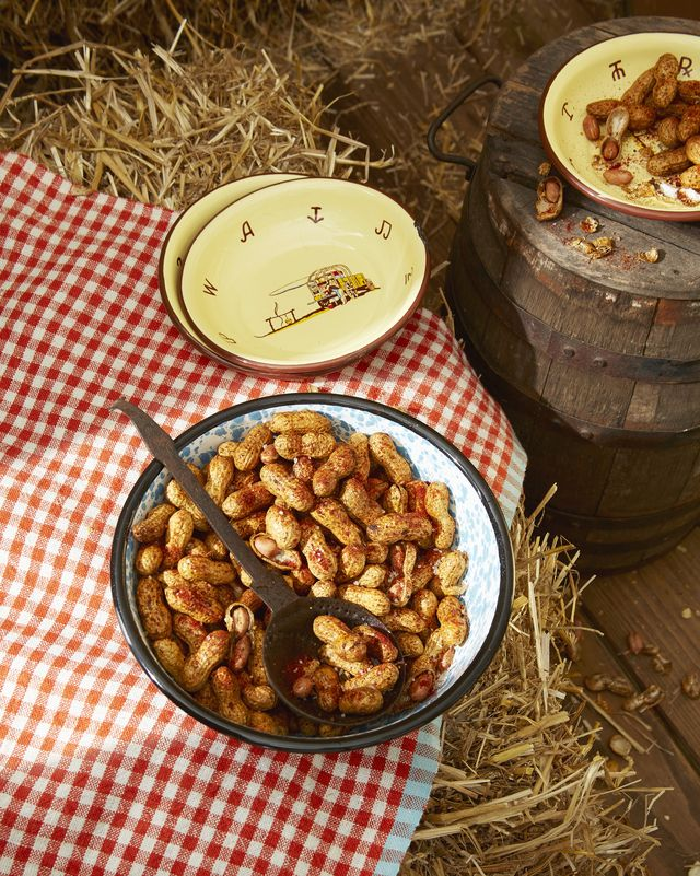 spiced roasted peanuts