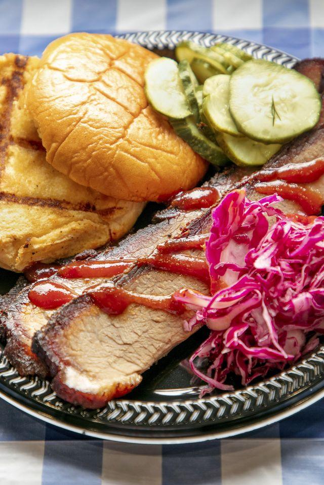 all american eats fourth of july menu spicy bbq brisket food