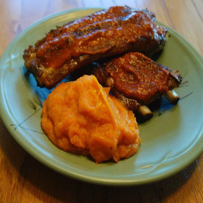 spicy orange sweet potatoes