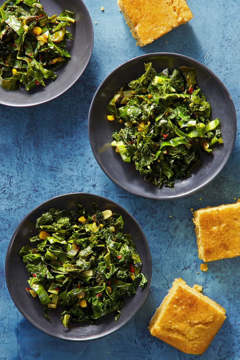 Spicy Southern Greens - Side Dishes for Ham