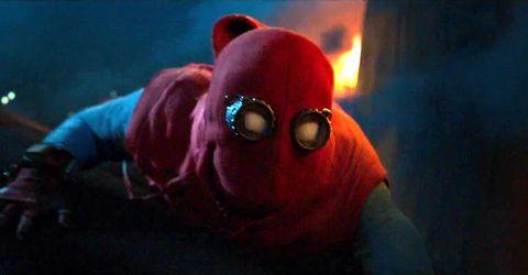 homecoming spiderman, diy costume